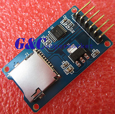 5PCS Micro SD Storage Board SD TF Card Memory Shield Module SPI ArduinO M48