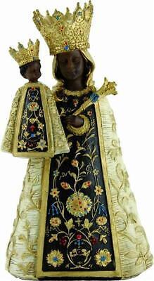 Heiligenfiguren Heilige Figur Schwarze Madonna mit Kind Höhe ca.20cm