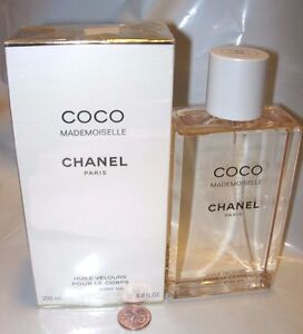 Image is loading Chanel-Coco-Mademoiselle-Velvet-Body-Oil-PERFUME-SCENTED- 785afd313119