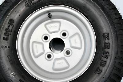 5.00-10 79M/6PR Komplettrad (145-10), Trailer Anhänger Reifen Rad Felge 3.50x10