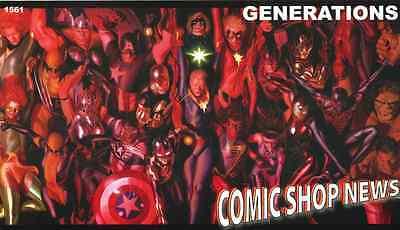COMIC SHOP NEWS CSN 1488 TWILIGHT ZONE PROMO GIVEAWAY SPIDERMAN MINI