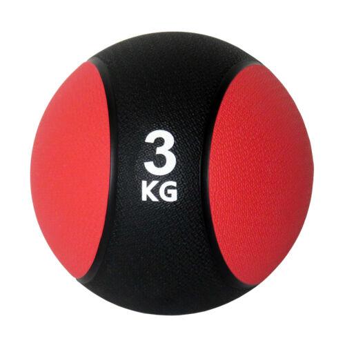 Unibest Medizinball Gummimedizinball Fitnessball Gymnastikball Gewicht 1kg-6kg