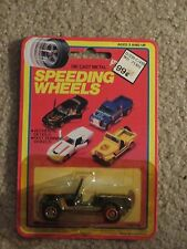 Speeding Wheels Die-Cast Woolworth Yatming Jeep Golden Hawk MOC