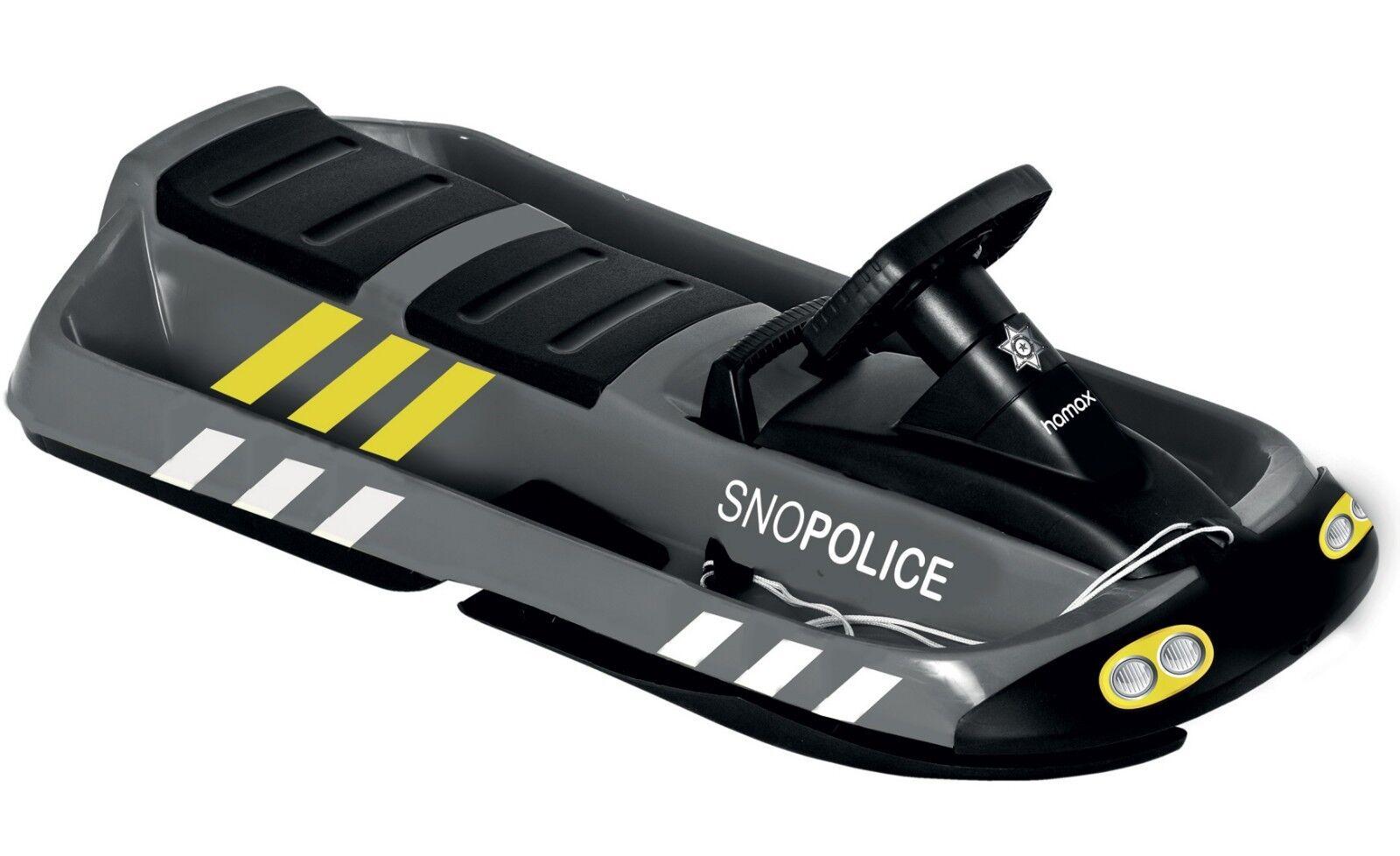 Hamax Zweisitzer Zweisitzer Zweisitzer Schneebob Bob Schlitten Sno Police 109 cm 227698 46e78f