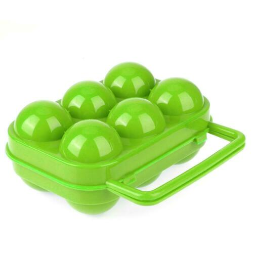 Portable Folding Egg Storage Box Holder Outdoor Carrier Container Handle Case UK