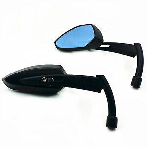 Black-Metal-Mirrors-For-Harley-Dyna-Softail-Electra-Glide-Yamaha-Kawasaki-Bobber
