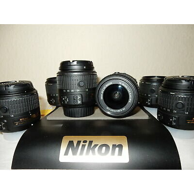 Perfect condition Nikon nikkor 18-55 VR2 lens