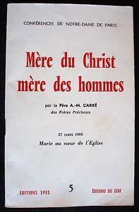 MERE-DU-CHRIST-MERE-DES-HOMMES-PERE-A-M-CARRE-1966
