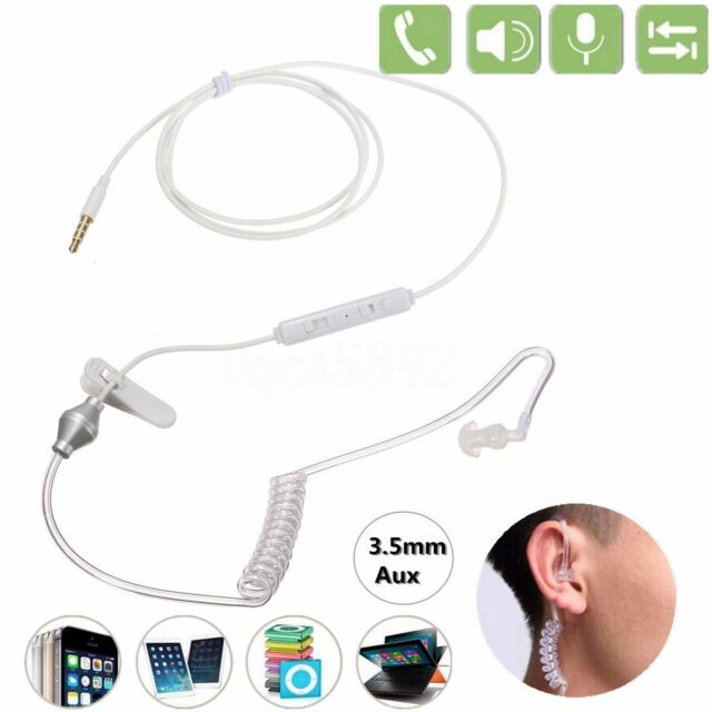 3.5mm Mono Bodyguard Headset Security