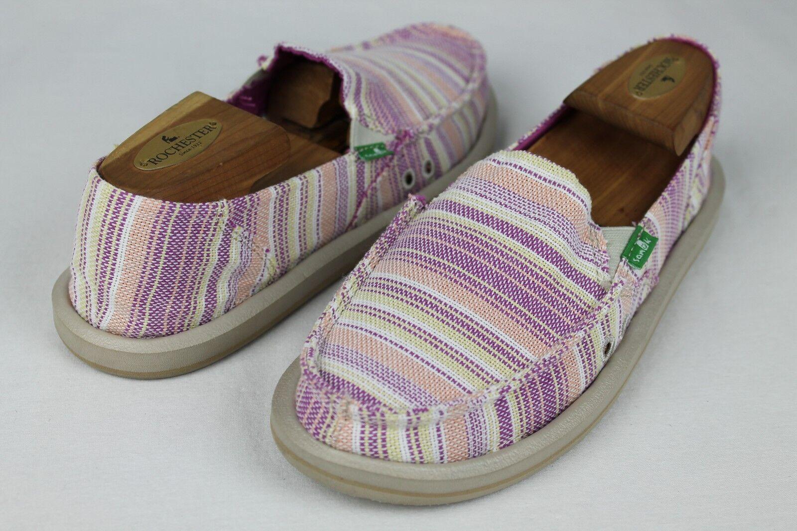 SANUK femmes CAROLINE BERRY Couleur SIDEWALK SURFER chaussures Taille 5 US