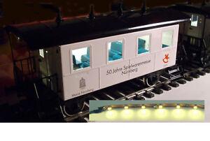 LED-Personenwagen-Beleuchtung-digital-10cm-warmweiss