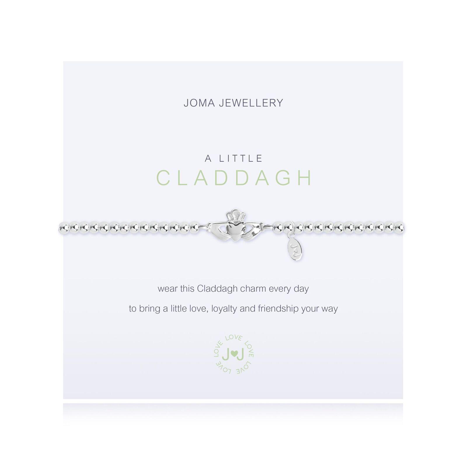 Joma Jewellery a little Claddagh (Irish) bracelet ND73c