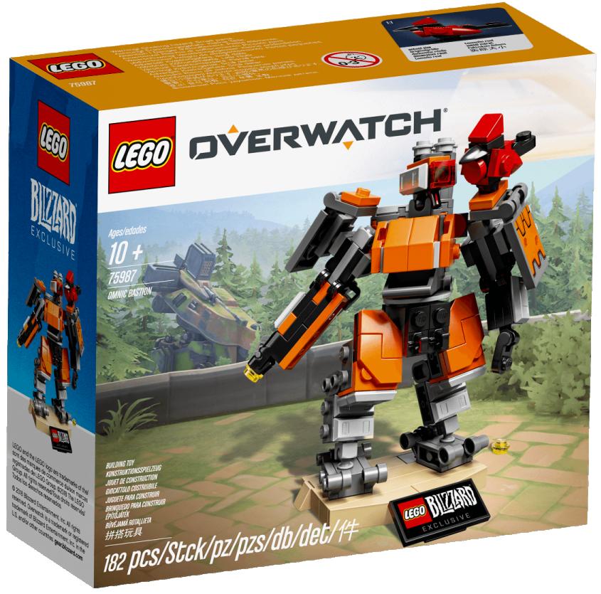 LEGO® OVERWATCH® - 75987 OMNIC BASTION inkl. Ganymed - Blizzard®  / NEU & OVP