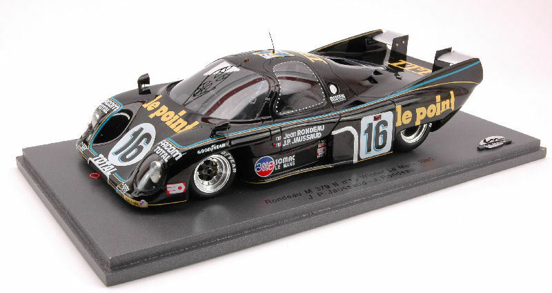 Rondeau m 379 b   16 sieger in le mans 24 modell spark - modell.