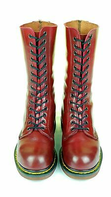 Dr Martens Made in England 1940 RARE steel toe boots 14 eyes