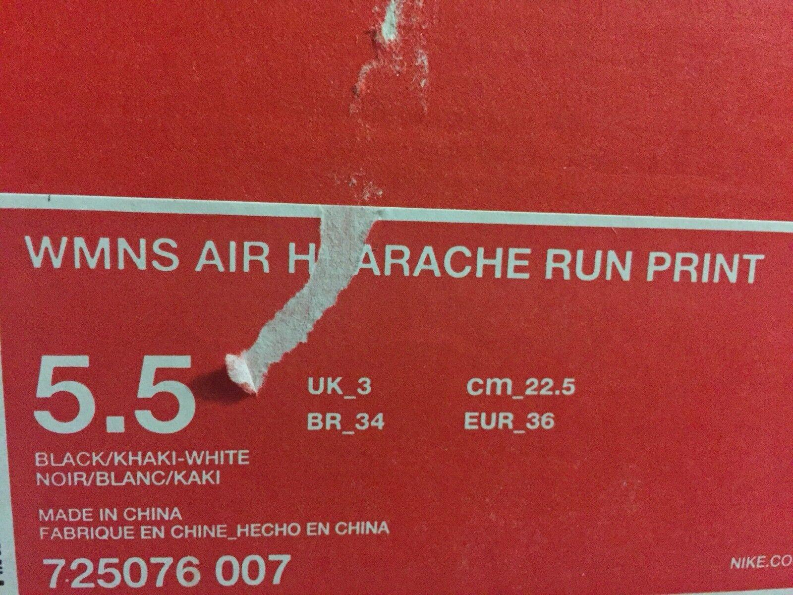 more photos cab94 df78e ... WMNS Nike Nike Nike Air Huarache Leopard Cheetah Animal Safari Print  Black Khaki White 5.5 9cc0fd