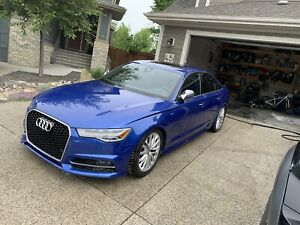 2016 Audi S6 - Extended warranty and maintenance plan
