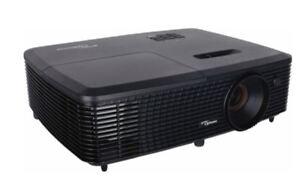 Optoma-S341-SVGA-DLP-Projector-Black-Home-HD-Portable-HDMI-3D-Theater-TV-VGA