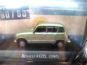 RENAULT-4-GTL-1985-80-90-039-s-Unforgettable-Cars-1-43-Diecast-SALVAT-ARGENTINA