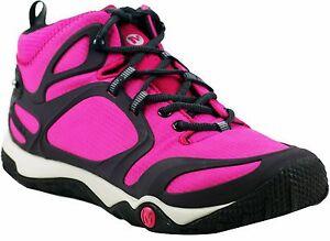 ddb75dac5f7a Merrell Womens Proterra Mid Gore-tex Pink Sports Trekking Trainer ...