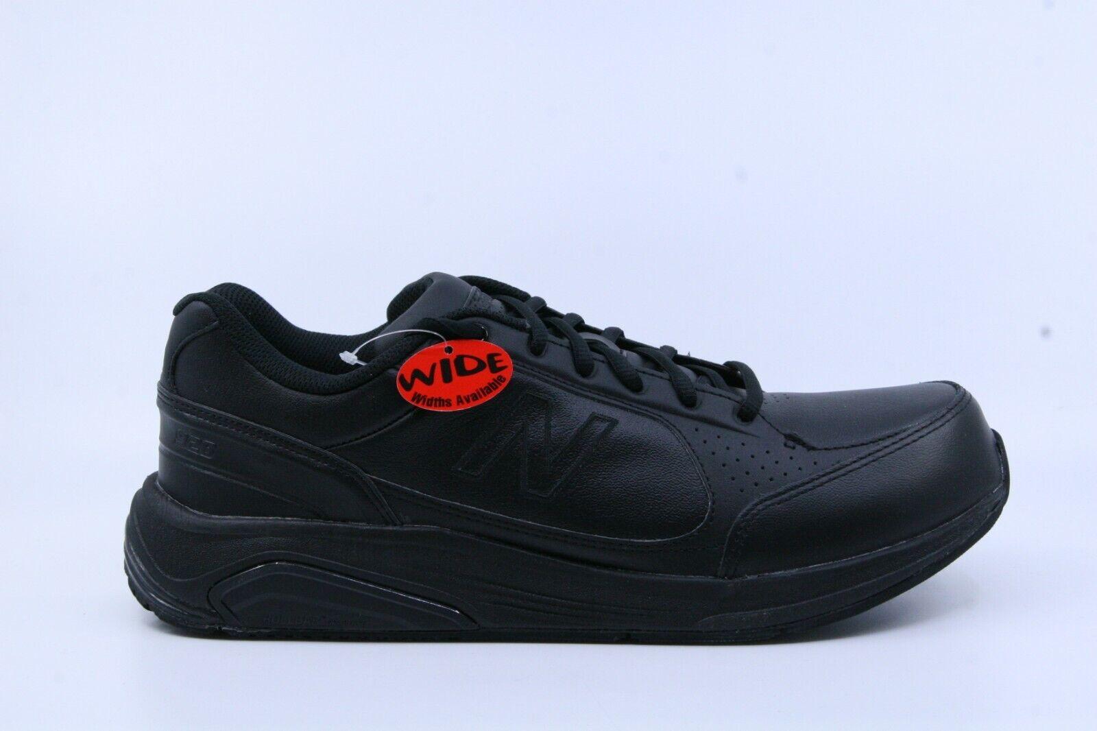New Balance Men's Leather 928 (Wide Width) Black US12 MW928BK