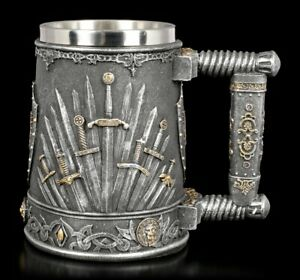 Edad-Media-Krug-Sword-Of-The-Rey-Fantasia-Vaso-Copa-de-Vino-Jarra-de-Cerveza