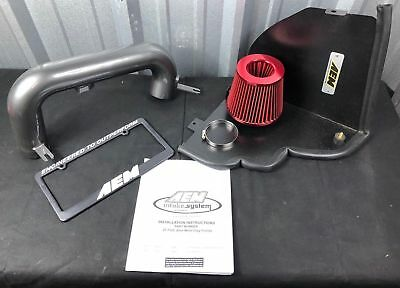 25HP AEM Gunmetal Cold Air Intake Kit for 15-18 Subaru WRX 2.0L w// Heat Shield