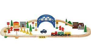 Chad-Valley-Wooden-Train-Set-60-Piece-Imagination-With-This-Solid-Wooden-Train