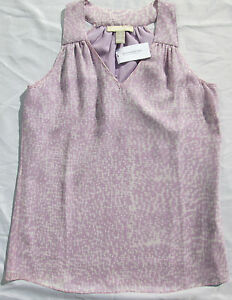 NWT-Banana-Republic-New-69-50-Women-Silk-Top-Size-2