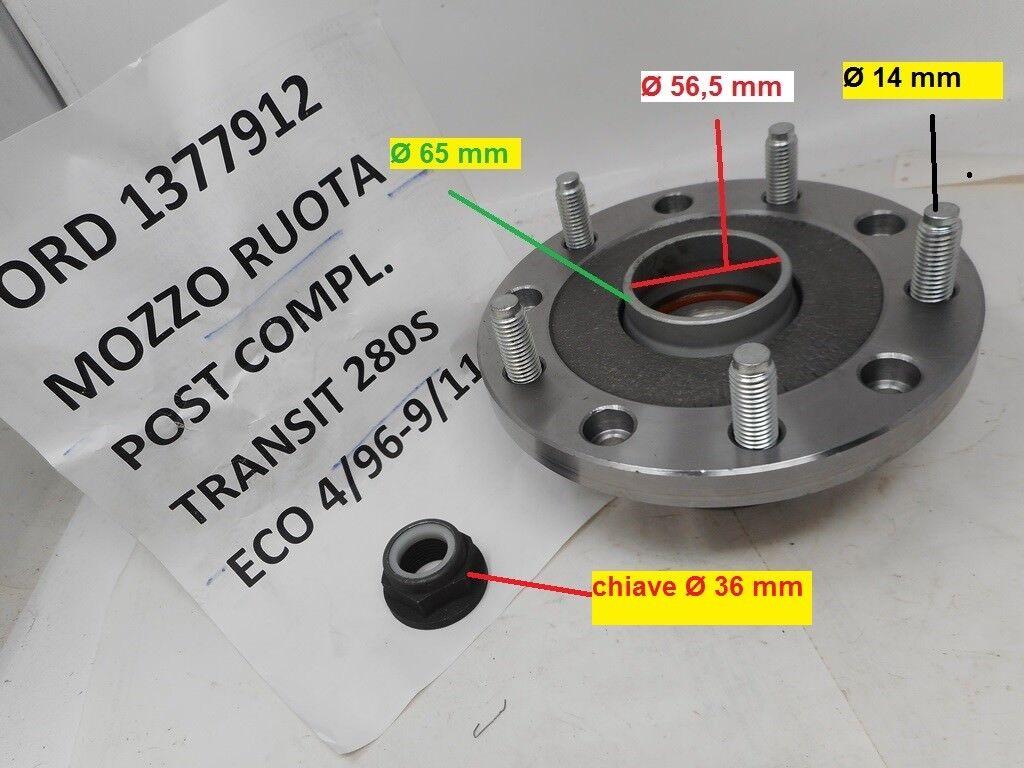 Moyeu de roue Arrière IVECO à partir de 1989-7180049