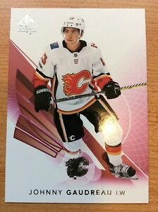UD-SP-AUTHENTIC-2017-2018-RED-PARALLEL-JOHNNY-GAUDREAU-HOCKEY-CARD-13