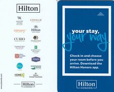 (03446) Hilton Hotel Guest Room Keycard (collectable item only)