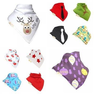 Imparziale Bandana Bib Funky Giraffe Baby Bambino 100% Cotone Dribble Natale A Secco-mostra Il Titolo Originale