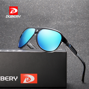 734f5396063 Image is loading DUBERY-Men-Sport-Polarized-Sunglasses-Outdoor-Riding- Driving-
