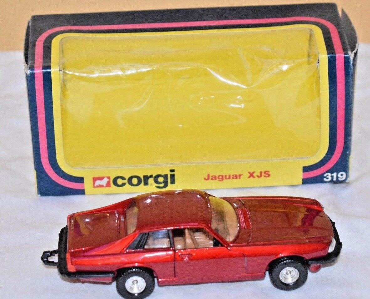 Corgi No  319 Jaguar XJS - Red Metallic (Original 1978 Boxed); Near Mint