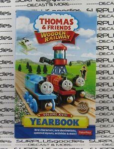Fisher-Price-Thomas-The-Train-amp-Friends-Wooden-Railway-2013-YEARBOOK-Vol-XVIII