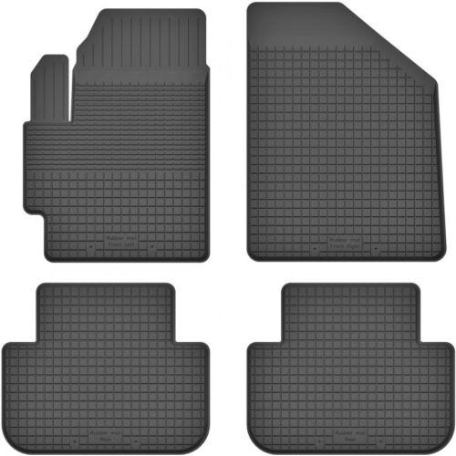 Bj. 2002-2006 ein Set Gummimatten Fußmatten 1.5 cm Rand KIA CARENS II 4-teile