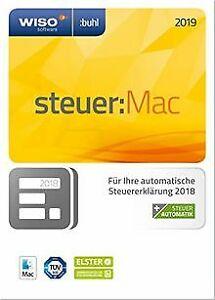 WISO-steuer-Mac-2019-fuer-Steuerjahr-2018-Frustfre-Software-Zustand-gut