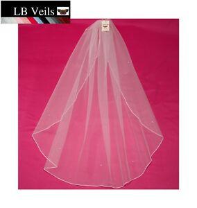 Crystal-Veil-Wedding-Any-Length-Ivory-1-Single-Tier-Sparkle-LBV144-LBVeils-UK