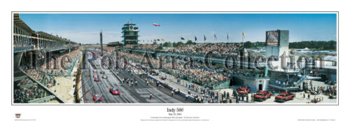 Indianapolis 500 Raceway Panoramic photo Great Gift IndyCars Brickyard