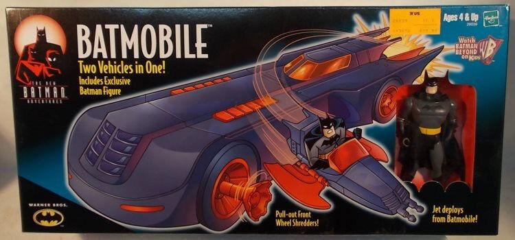Batbilene The New läderlappen äventyrs Animering Series Exklusiv Figur Kenner MISB