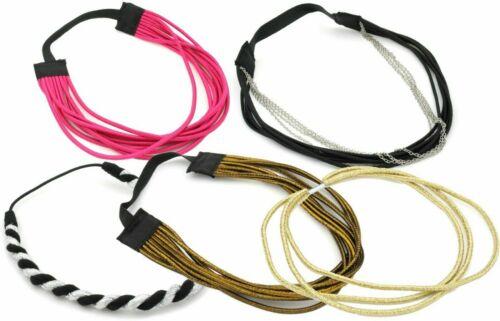 Extensible Serre-tête Bandeau Cheveux Bande Accessoire élastique Stretch New Choisir Design