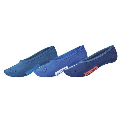 Globe NUOVO MEN/'S BLUES invisibile 5 Pack Calzini-assortiti nuovo con etichetta