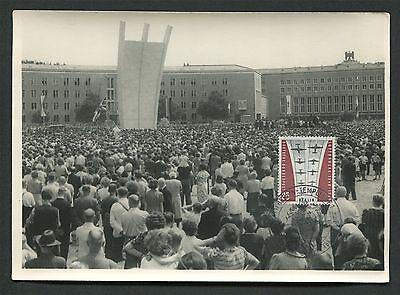 Berlin Mk 1959 188 LuftbrÜcke Airlift Maximumkarte Carte Maximum Card Mc C9621 Geeignet FüR MäNner Frauen Und Kinder Architektur
