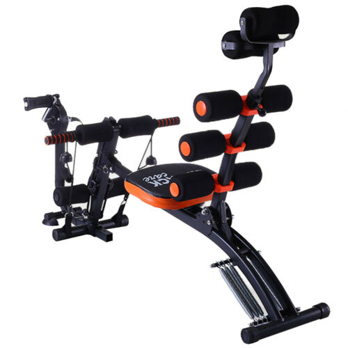 Home Gym Abs Trainer Ab Fitness Crunch Roller Abdominal Exercise Workout Machine