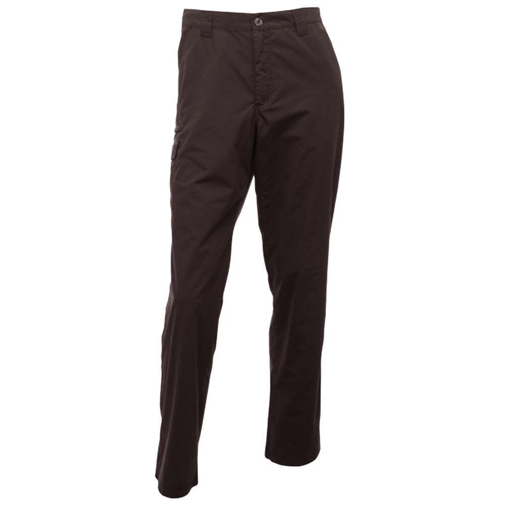 Regatta Pantaloni Uomo crossfell PASSEGGIATE Trekking Leggero Campeggio Ash