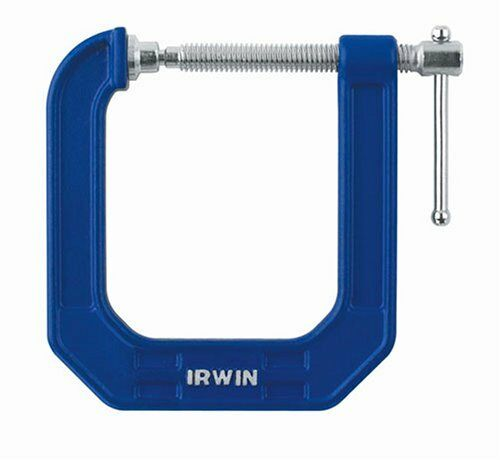 IRWIN ToolsQUICK-GRIP100SeriesDeepThroatC-Clamp,2-inchby 31//2-inchThroat 225123