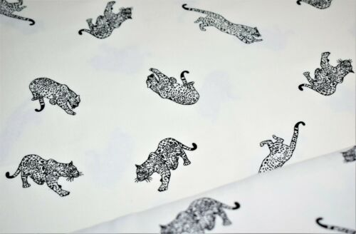 Printed Brush Brushed Flannel 100/%Cotton Fabric,Animal Print Designs,3 Designs
