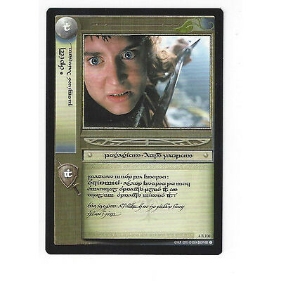 CCG 11 Lord of the Rings / Hobbit Promo 4R100 Tengwar Sting Elvish Tournament