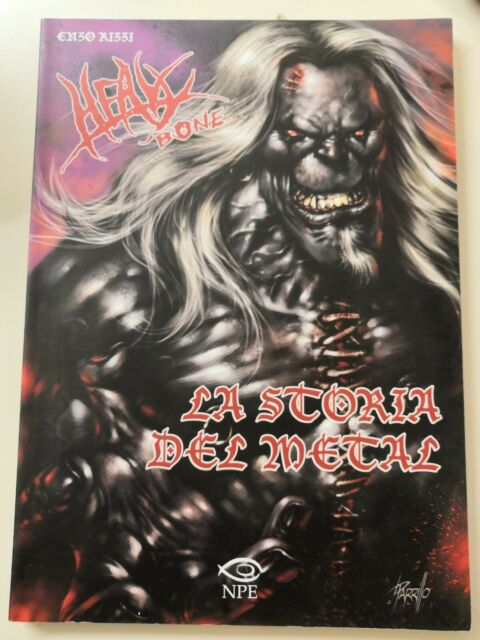 Enzo Rizzi HEAVY BONE La storia del metal NPE 2011 int. di Roberto Recchioni